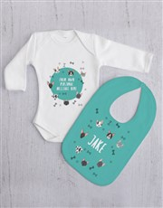 Personalised Puppy Gift Set