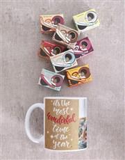 Personalised Wonderful Time Mug