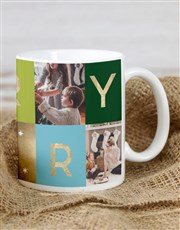 Personalised Merry Mug