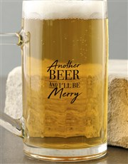 Personalised Another Beer Mug