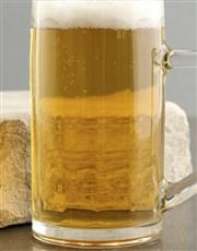 Personalised See Santa Beer Mug