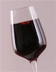 Personalised Christmas Spirit Wine Glass