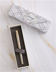 Personalised Contemporary Parker Pen Sleeve Box
