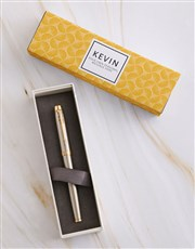 Personalised Elegant Parker Pen Sleeve Box