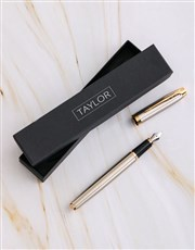 Personalised Parker Pen Gift Box