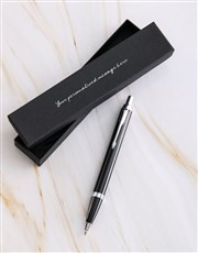Personalised Parker Pen Cursive Gift Box