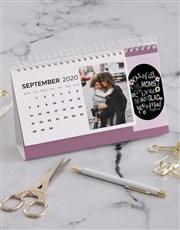 Personalised My Mom Desk Calendar