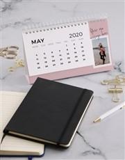 Personalised Vintage Photo Desk Calendar