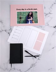 Personalised Fresh Start Desk Pad