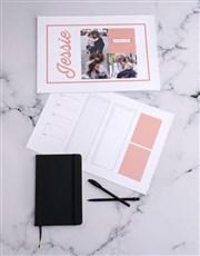 Personalised Multi Photo Desk Pad