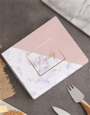 Personalised Marble Cheese Knives