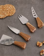 Personalised Initial Cheese Knives