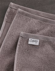Personalised Botanical Stone Towel Set