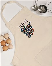 Personalised Gets It Done Apron