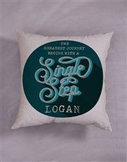 Personalised Greatest Journey Scatter Cushion