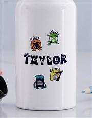 Personalised Little Monster Bottle