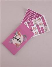 Personalised Flamingo Labels