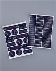 Personalised Arcade Game Labels