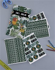 Personalised Jungle Labels
