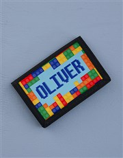 Personalised Lets Go Play Wallet