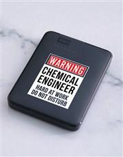 Personalised Warning 1TB Hard Drive