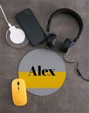 Personalised Name Desk Tech Set