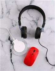 Personalised Initials Desk Tech Set