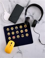 Personalised Emoji Desk Tech Set