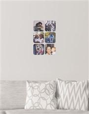 Personalised Square Multi Photo Blocks