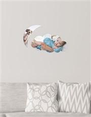Personalised Cloud Moon Multi Photo Blocks
