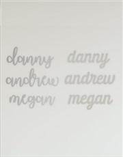 Personalised Three Names Mirror