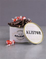 Personalised Grandparents Day Biltong Tin