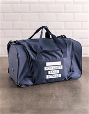 Personalised Fitness Gym Bag