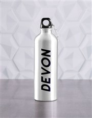 Personalised Machine Mode Waterbottle And T Shirt