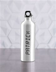 Personalised Now Waterbottle And T Shirt