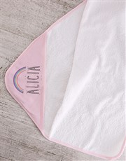 Personalised Pink Hatbox for Baby Girl