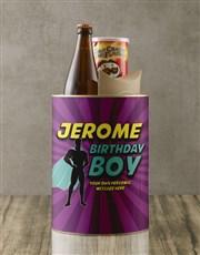 Personalised Superhero Birthday Boy Bro Bucket