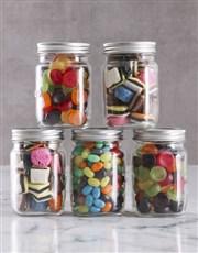Personalised Boss Day Sweetie Jar Gift Hamper