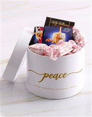 Personalised Peaceful Sally Williams Hat Box