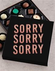 Personalised Thousand Apologies Chocolate Tray