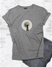 Personalised Windmill Graphic T Shirt