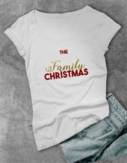 Personalised Family Surname Ladies T Shirt