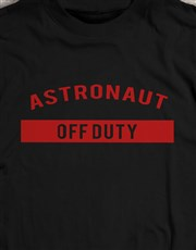 Personalised Off Duty T Shirt
