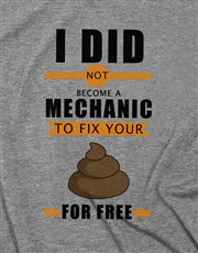 Personalised Fix It For Free T Shirt