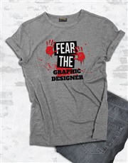 Personalised Fear Me T Shirt