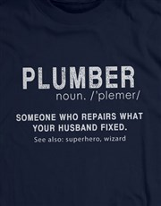 Personalised What Your Husband Fixed T Shirt