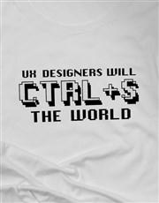 Personalised CTRL S Ladies T Shirt