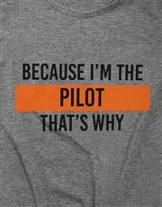 Personalised Because Ladies T Shirt