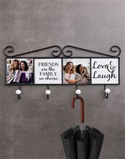 Personalised Mr And Mrs Coat Rack