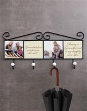 Personalised Grandchildren Coat Rack